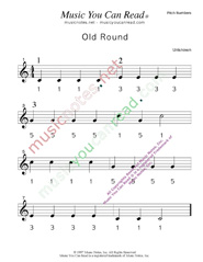 "Click to Enlarge: ""Old Round"" Pitch Number Format"
