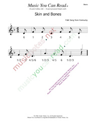 "Click to enlarge: ""Skin and Bones"" Beats Format"
