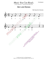 "Click to Enlarge: ""Skin and Bones"" Pitch Number Format"