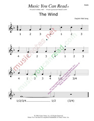 "Click to enlarge: ""The Wind"" Beats Format"