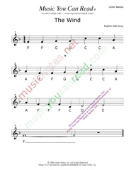 "Click to Enlarge: ""The Wind"" Letter Names Format"