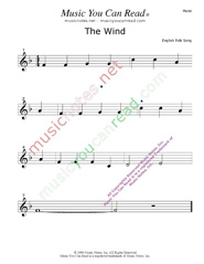 """The Wind"" Music Format"