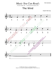 "Click to Enlarge: ""The Wind"" Pitch Number Format"