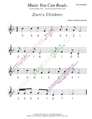 "Click to Enlarge: ""Zion's Children"" Pitch Number Format"