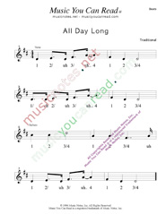"Click to enlarge: ""All Day Long"" Beats Format"