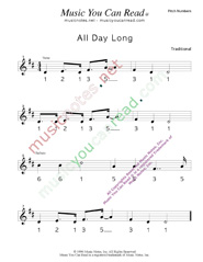 "Click to Enlarge: ""All Day Long"" Pitch Number Format"