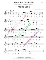 "Click to enlarge: ""Alpine Song"" Beats Format"