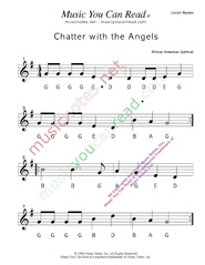 "Click to Enlarge: ""Chatter with the Angels"" Letter Names Format"