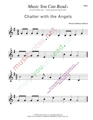 """Chatter with the Angels"" Music Format"
