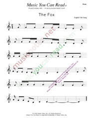 """The Fox"" Music Format"