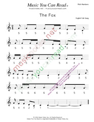 "Click to Enlarge: ""The Fox"" Pitch Number Format"