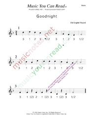 "Click to enlarge: ""Goodnight"" Beats Format"