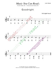 "Click to Enlarge: ""Goodnight"" Letter Names Format"