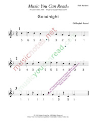 "Click to Enlarge: ""Goodnight"" Pitch Number Format"