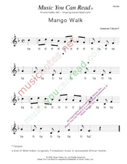 "Click to Enlarge: ""Mango Walk"" Rhythm Format"