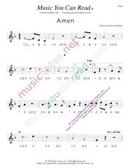 Quot Amen Quot African American Us Spiritual Lyrics Quot Amen