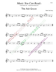 """The Ash Grove,"" Music Format"