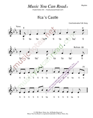 "Click to Enlarge: ""Ifca's Castle,"" Rhythm Format"