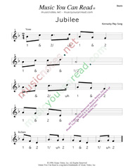 "Click to enlarge: ""Jubilee,"" Beats Format"