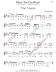 "Click to enlarge: ""The Titanic,"" Beats Format"