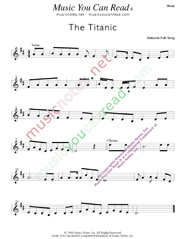 """The Titanic,"" Music Format"