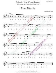 The Ship Titanic (Titanic Song) Scoutorama.com