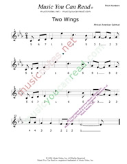 "Click to Enlarge: ""Two Wings,"" Pitch Number Format"