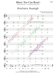 "Click to enlarge: ""Anchors Aweigh,"" Beats Format"