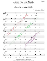 "Click to Enlarge: ""Anchors Aweigh,"" Rhythm Format"