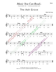"Click to enlarge: ""The Ash Grove,"" Beats Format"