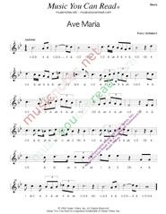 SCHUBERT - AVE MARIA LYRICS - SongLyrics.com