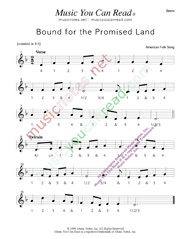 "Click to enlarge: ""Bound for the Promised Land,"" Beats Format"