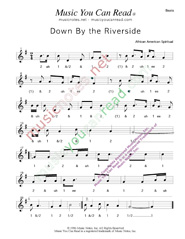 "Click to enlarge: ""Down By the Riverside,"" Beats Format"