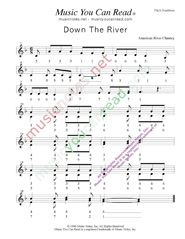 "Click to Enlarge: ""Down the River,"" Pitch Number Format"