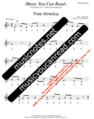 "Click to Enlarge: ""Free America"" Pitch Number Format"