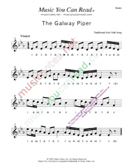 "Click to enlarge: ""The Galway Piper,"" Beats Format"