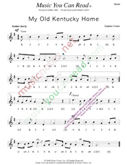 "Click to enlarge: ""My Old Kentucky Home,"" Beats Format"
