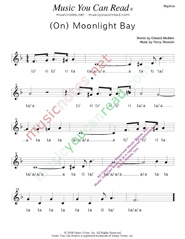 "Click to Enlarge: ""(On) Moonlight Bay,"" Rhythm Format"
