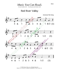 "Click to enlarge: ""Red River Valley,"" Beats Format"