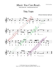 "Click to Enlarge: ""This Train,"" Pitch Number Format"