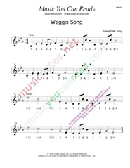 "Click to enlarge: ""Weggis Song,"" Beats Format"