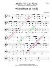 "Click to enlarge: ""We Shall Not Be Moved,"" Beats Format"